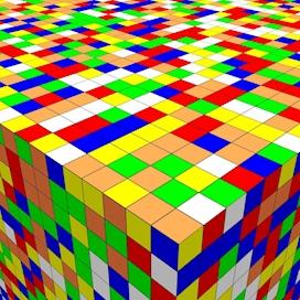 Top Corner of the Cube