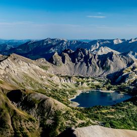 Lac Allos - Alps, France