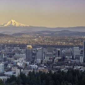 Portland, Oregon & Mt. Hood