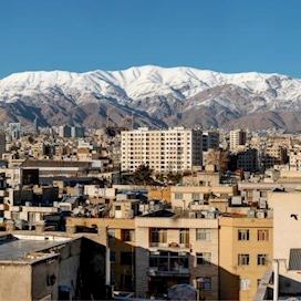 Wintry Tehran