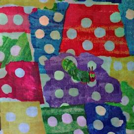 Caterpillar fabric (medium resolution)