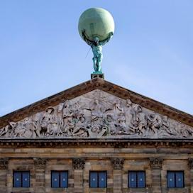 Royal Palace of Amsterdam pediment