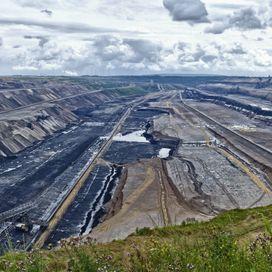 Open surface mining Garzweiler
