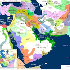 Middle East: Primary Cultural and Historical Zones