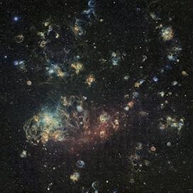 Large Magellanic Cloud by Ciel Austral