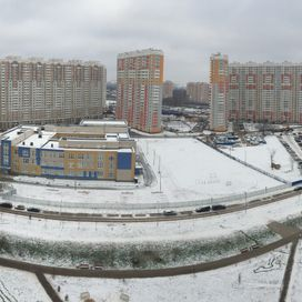 Russian residential area
