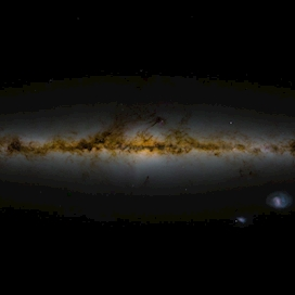 (Old) Sky image assembled from GAIA DR2 data